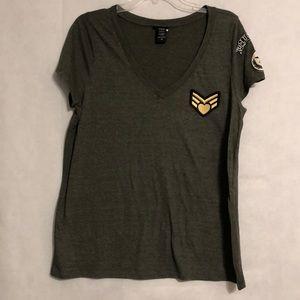 ✂️Final Sale✂️ Torrid Camo Green T-Shirt M/L